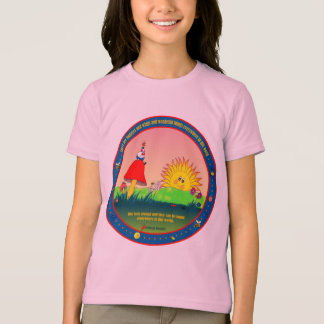 Bug Eyes and Wings & Wonderful Things Ringer T-Shi T-Shirt
