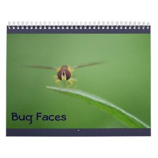 Bug Faces Calendar