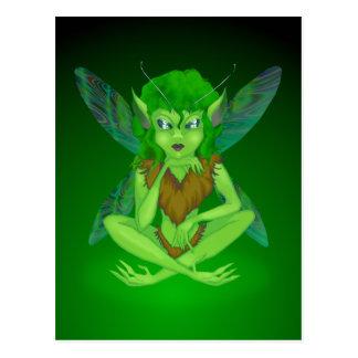 Bug Fairy Postcard