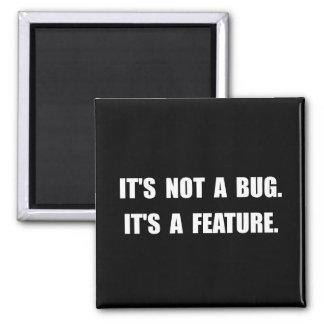 Bug Feature 2 Inch Square Magnet