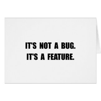 Bug Feature Card