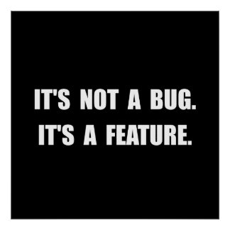 Bug Feature Poster