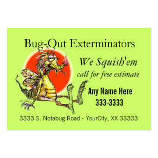 Bug-Fix Business Cards