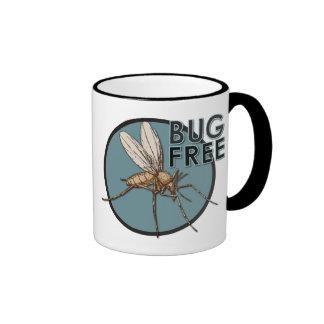 Bug Free - Black 11 oz Ringer Mug