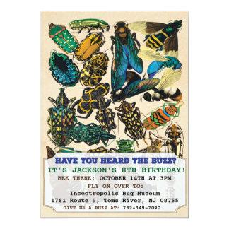 Bug Insect Birthday Invitation