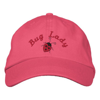 Bug Lady Embroidered Baseball Hat