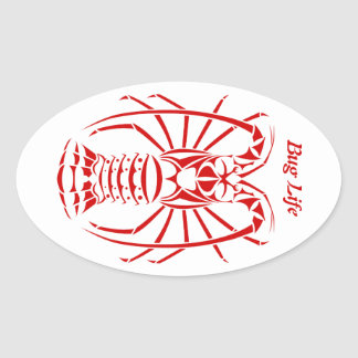 Bug Life Spiny Lobster Decal Sticker
