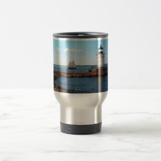 Bug Light Lighthouse Portland Maine Travel Mug