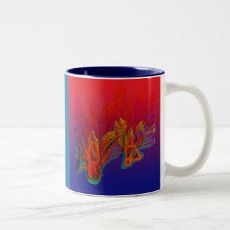 Bug love Two-Tone coffee mug