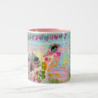 Bug me Baby Two-Tone Coffee Mug