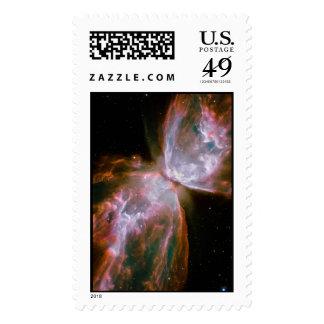 Bug Nebula, Butterfly Nebula, NGC 2346 Postage Stamps