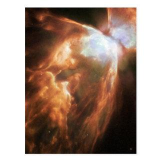 Bug Nebula in space Postcard