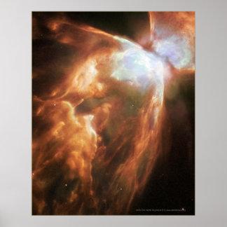 Bug Nebula NGC 6302 11x14 (8x10) Poster