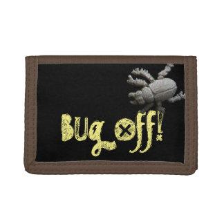 Bug Off! Beetle Tri-fold Wallets