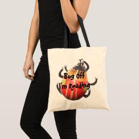 Bug Off - I'm Reading Book Bag bag