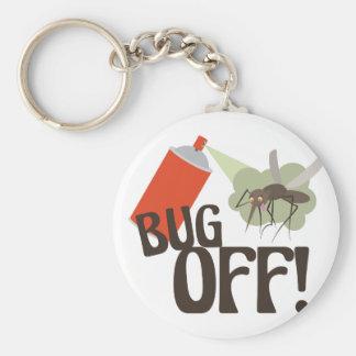 Bug Off! Keychain
