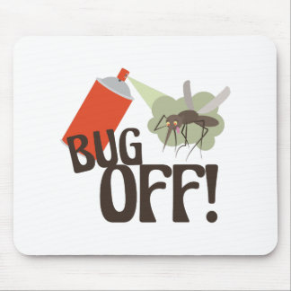 Bug Off! Mouse Pad