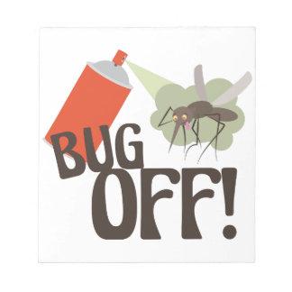 Bug Off! Notepad