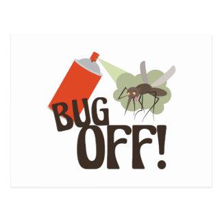 Bug Off! Postcard