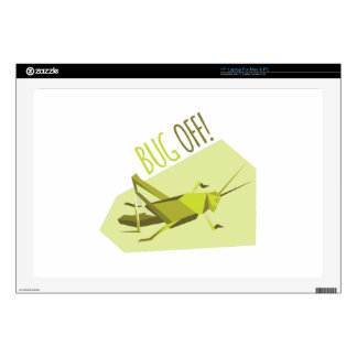 Bug Off! Decals For Laptops