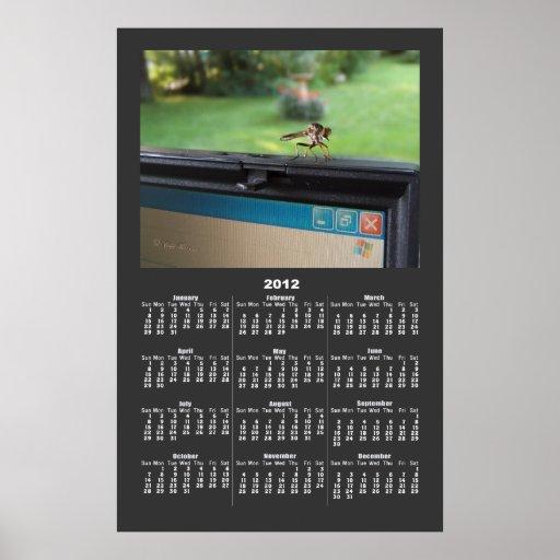 Bug On System calendar ~ print