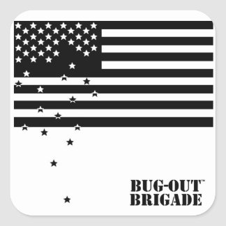 BUG-OUT Brigade Falling Stars Stickers