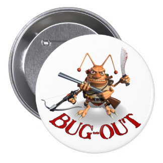 Bug-Out Cockroach style Pins