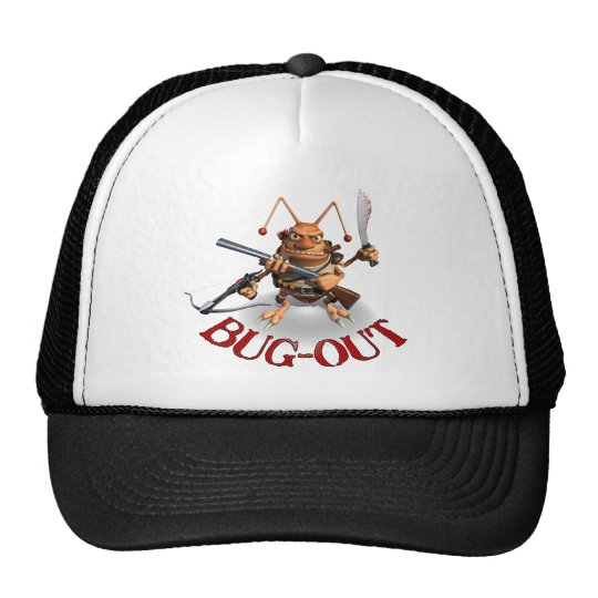 Bug-Out Cockroach style. Trucker Hat