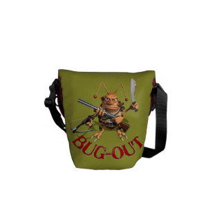 Bug-Out Messenger Bags