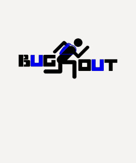 BUG OUT Runner BLUE SPorts Dresses