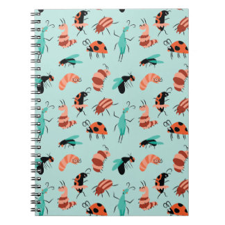 Bug Party Spiral Notebook