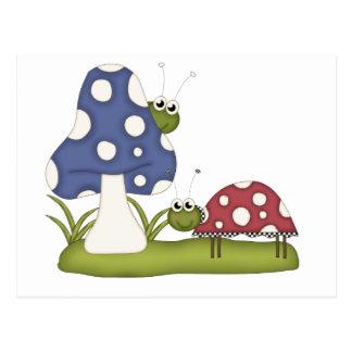Bug Scene Postcard