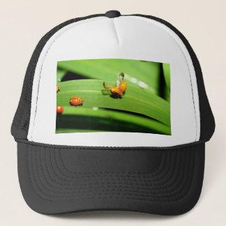 bug  spot ladybird trucker hat