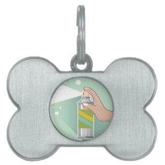 Bug Spray Pet ID Tag