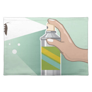 Bug Spray Placemat