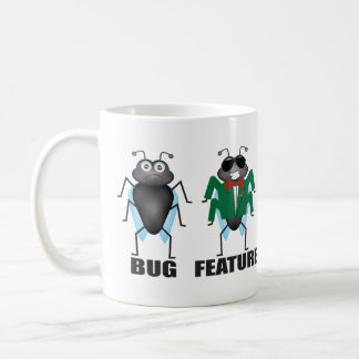 Bug vs Feature Coffee Mug