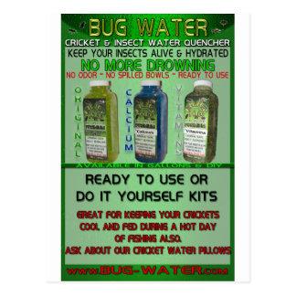 Bug-Water.com Water Gel Crystals Postcard