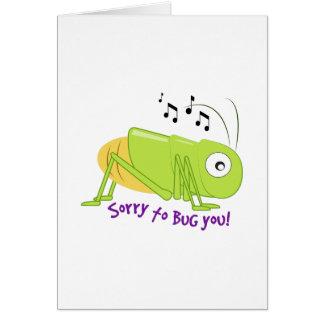 Bug You Greeting Card