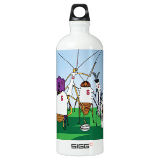 Bugby- because bugs play ball too! aluminum water bottle