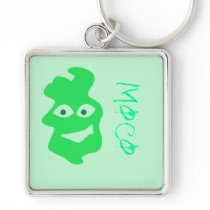 buger , moco key chain