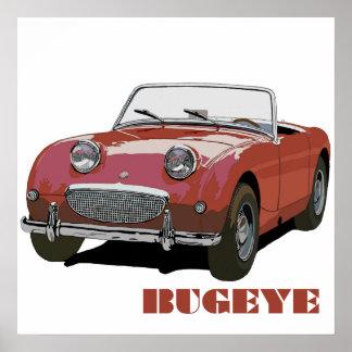 Bugeye rojo póster