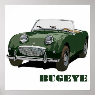 Bugeye verde póster