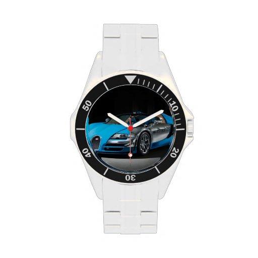 Buggati Veyron Face Plate Watch