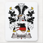 Bugge Family Crest Mouse Pads