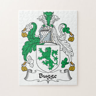 Bugge Family Crest Puzzles