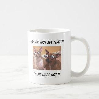 Bugged eyed creeps! mug
