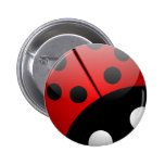 Bugged Out Flair 2 Inch Round Button