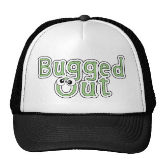 bugged out word hats