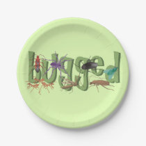 Bugged Paper Plate