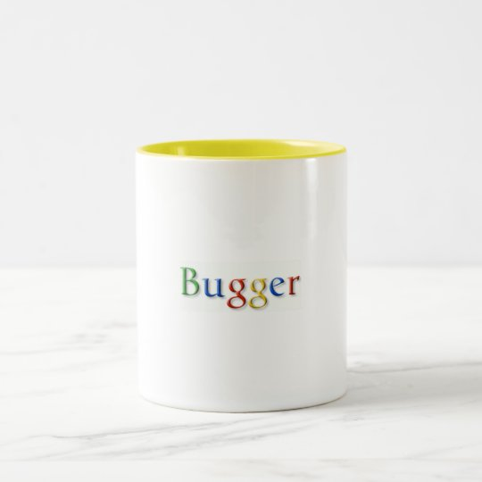 Bugger Two-Tone Coffee Mug